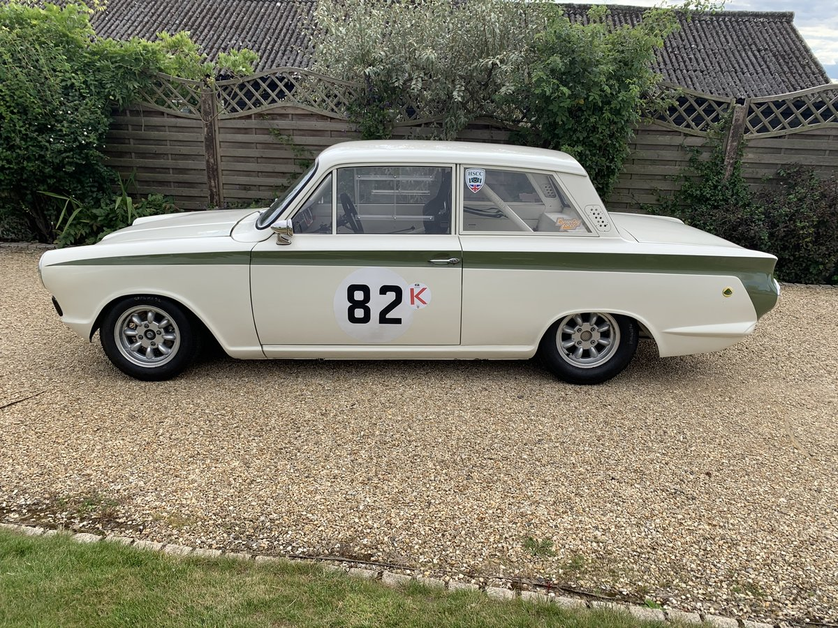 1966 Lotus Cortina FIA Historic Race Car For Sale (picture 3 of 6)