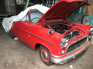 Ford Consul Mk2 Highline of 1956 'Barn Find'