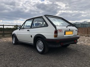 1987 Ford Fiesta XR2 white