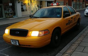 Ford Crown Victoria New York taxi cab