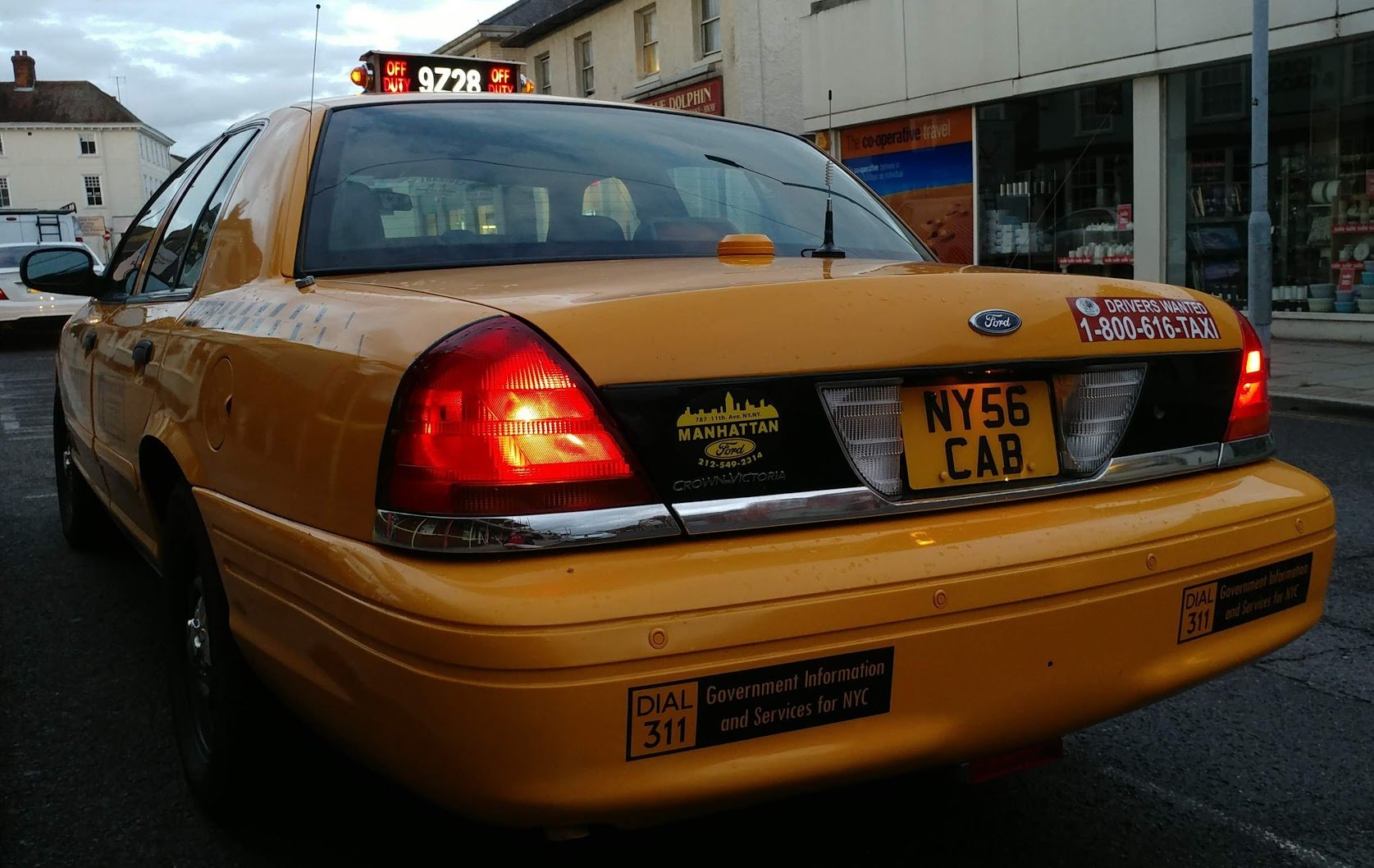2007 Ford Crown Victoria New York taxi cab For Sale (picture 2 of 6)
