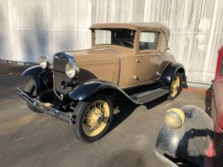 1931 Ford A-Sport Coupe For Sale by Auction