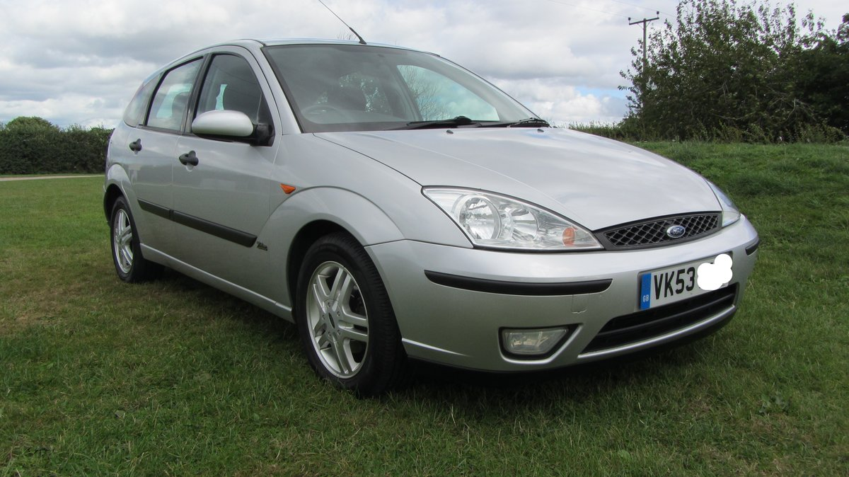 2003 Ford Focus Zetec - One Owner For Sale (picture 1 of 6)