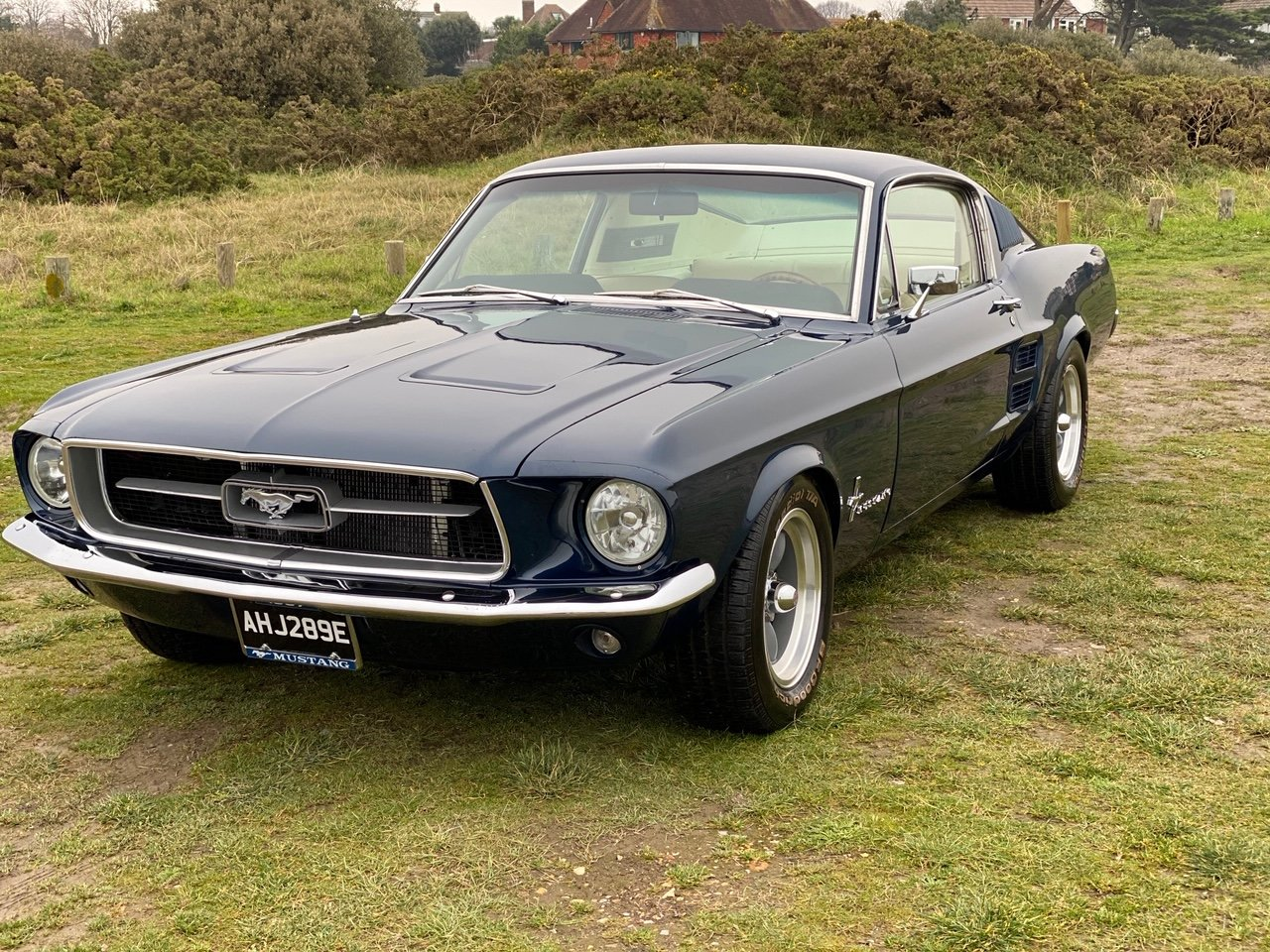 1967 Ford Mustang Fastback - Nightmist Blue For Sale (picture 1 of 6)