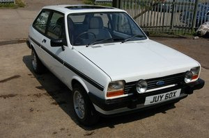 1982 MK1 FORD FIESTA 1100S CLASSIC FORD WITH MOT