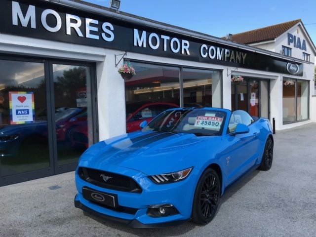 2017 Ford Mustang GT Convertible, Automatic. Just over 2,000 For Sale (picture 1 of 6)