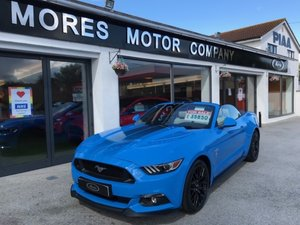 2017 Ford Mustang GT Convertible, Automatic. Just over 2,000