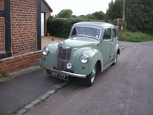 1952 low mileage Prefect, excellent show condition