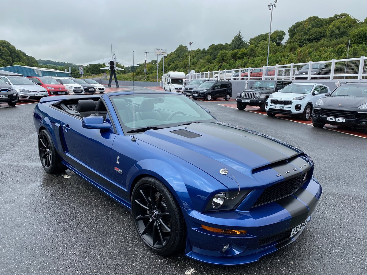 2008 FORD MUSTANG SHELBY GT CONVERTIBLE AUTO SUPERCHARGED For Sale (picture 1 of 6)