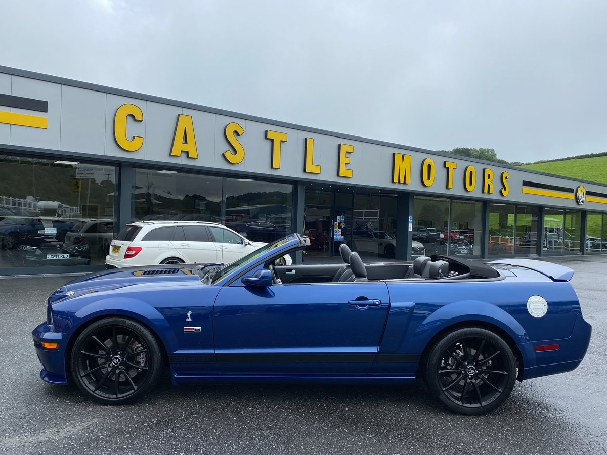 2008 FORD MUSTANG SHELBY GT CONVERTIBLE AUTO SUPERCHARGED For Sale (picture 2 of 6)