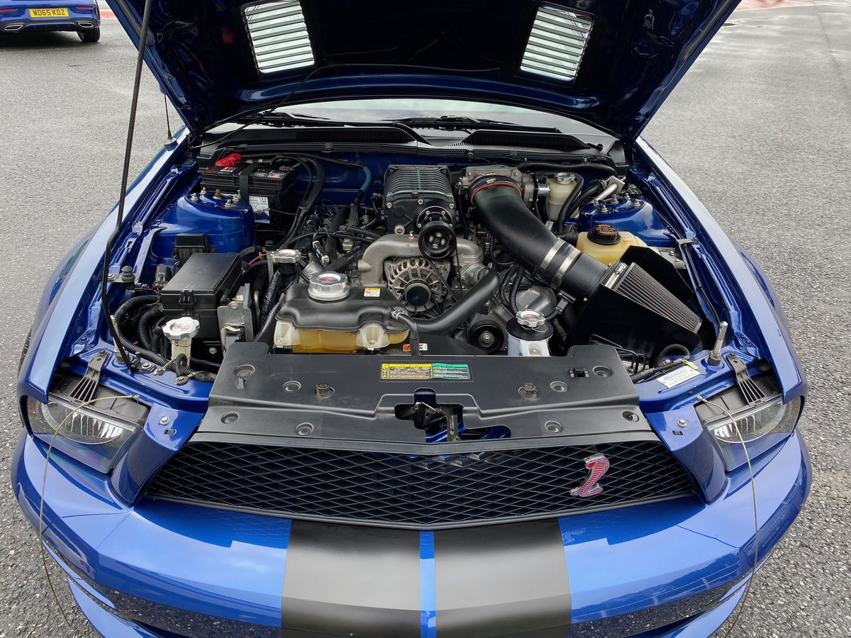 2008 FORD MUSTANG SHELBY GT CONVERTIBLE AUTO SUPERCHARGED For Sale (picture 6 of 6)