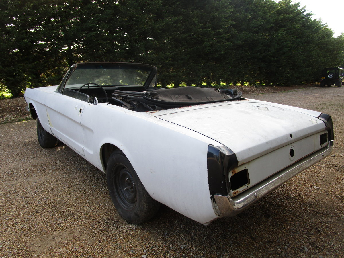 1965 Ford Mustang Convertible Project.  For Sale (picture 2 of 6)