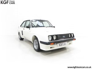 1978 A Tremendous Mk2 Ford Escort RS2000 X Series