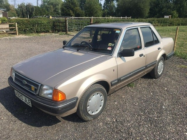 1984 Ford Orion Ghia 1600 CVH 4 Auto For Sale (picture 1 of 6)