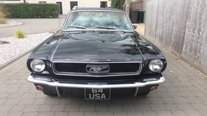 1966 Ford Mustang Coupe. 64USA