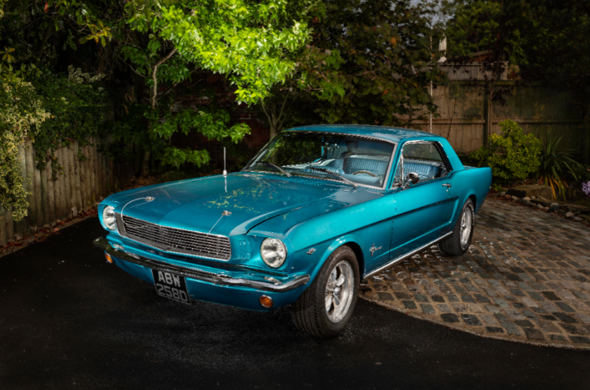 1966 Mustang 302 V8 coupe Auto For Sale (picture 1 of 6)