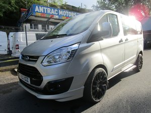 2017 FORD TRANSIT CUSTOM TOURNEO 2.0 TDI 9 SEATER SILVER