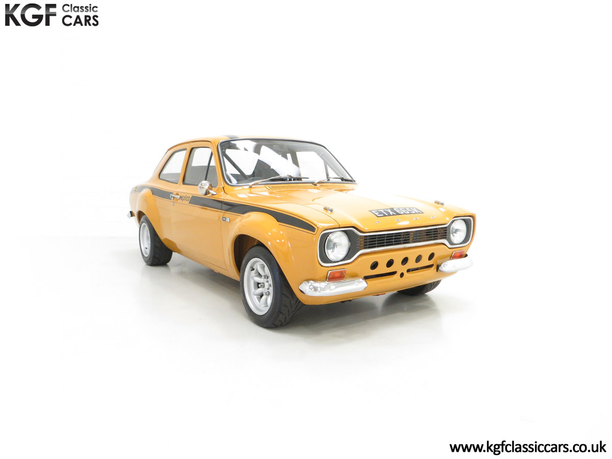 1971 An Incredible AVO Registered Mk1 Ford Escort Mexico SOLD (picture 1 of 24)