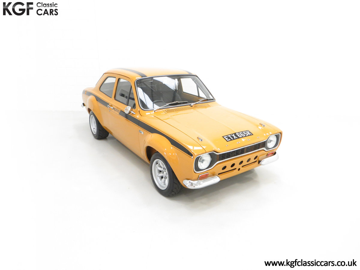 1971 An Incredible AVO Registered Mk1 Ford Escort Mexico SOLD (picture 2 of 24)