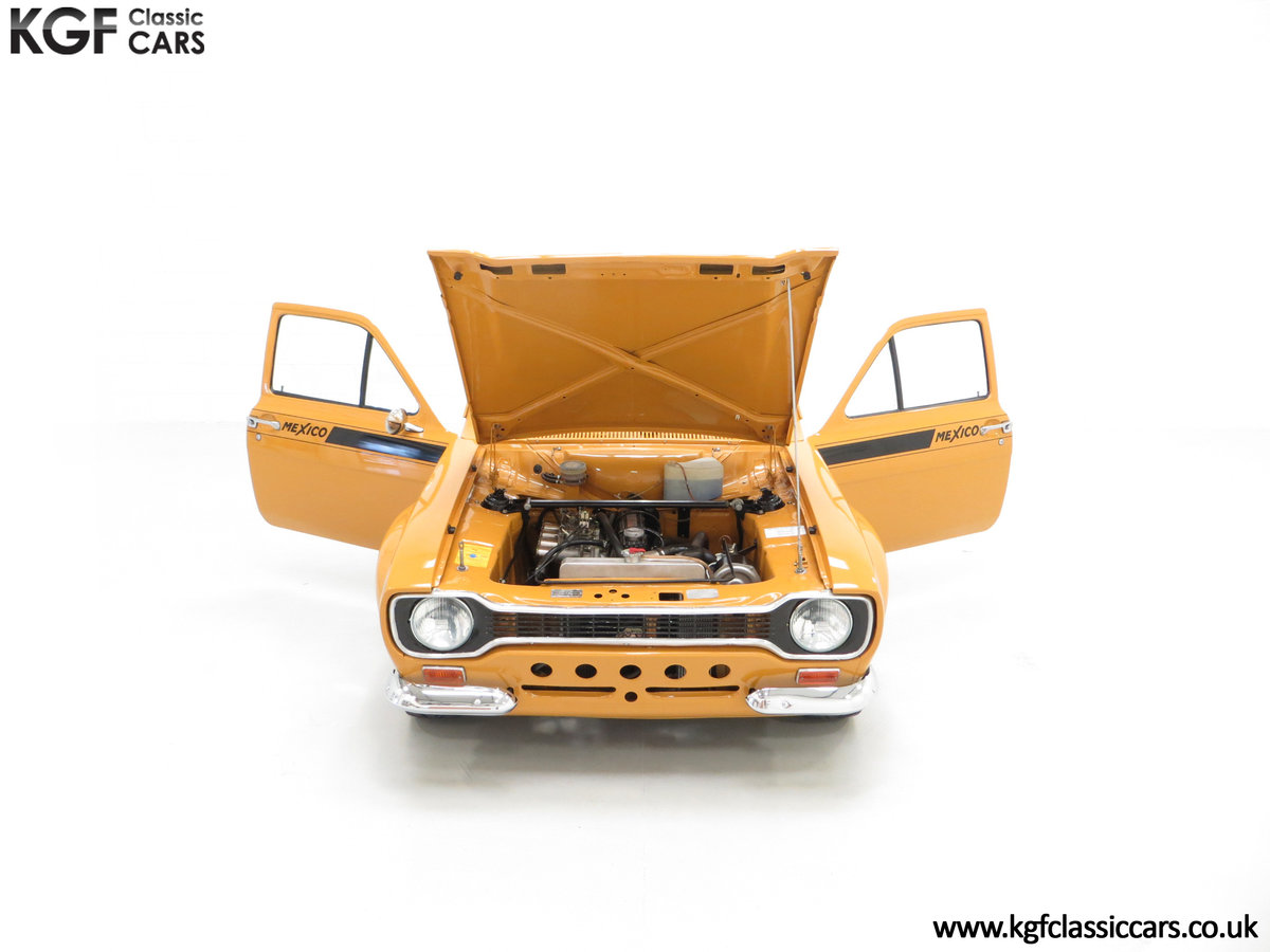 1971 An Incredible AVO Registered Mk1 Ford Escort Mexico SOLD (picture 4 of 24)