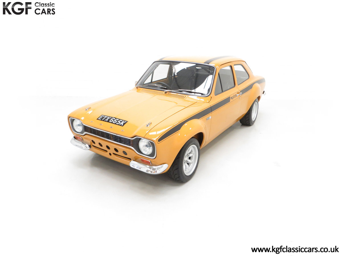 1971 An Incredible AVO Registered Mk1 Ford Escort Mexico SOLD (picture 5 of 24)