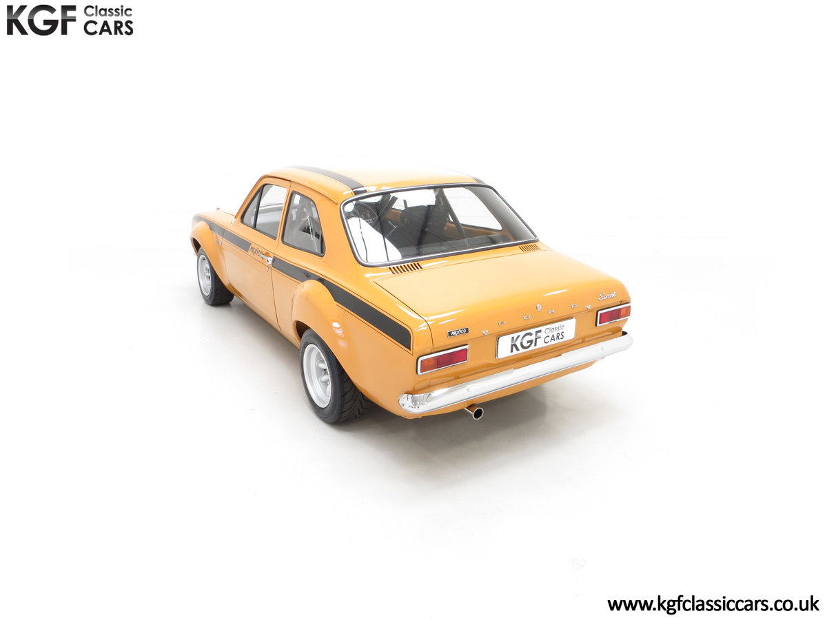 1971 An Incredible AVO Registered Mk1 Ford Escort Mexico SOLD (picture 9 of 24)