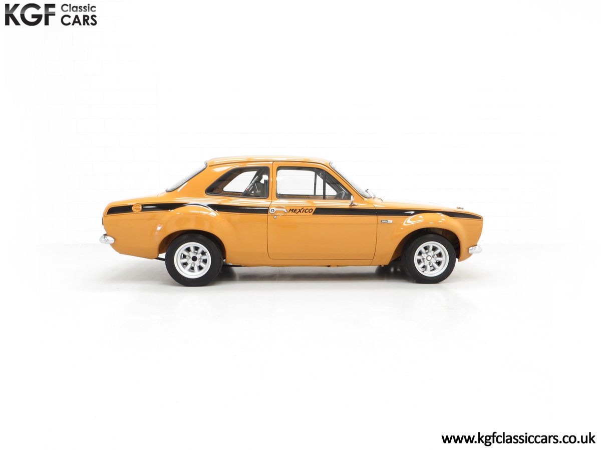 1971 An Incredible AVO Registered Mk1 Ford Escort Mexico SOLD (picture 14 of 24)