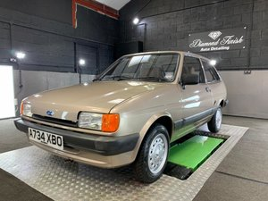 *REMAINS AVAILABLE - AUGUST AUCTION* 1984 Ford Fiesta 1100