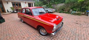 1966 FORD CORTINA MK1 GT SALOON (RED)