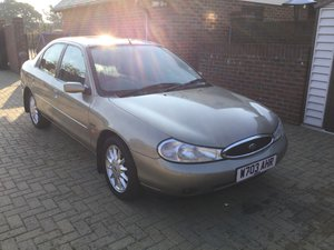2000 Ford Mondeo Ghia X Automatic, demo plus 1 owner, 37000 miles SOLD
