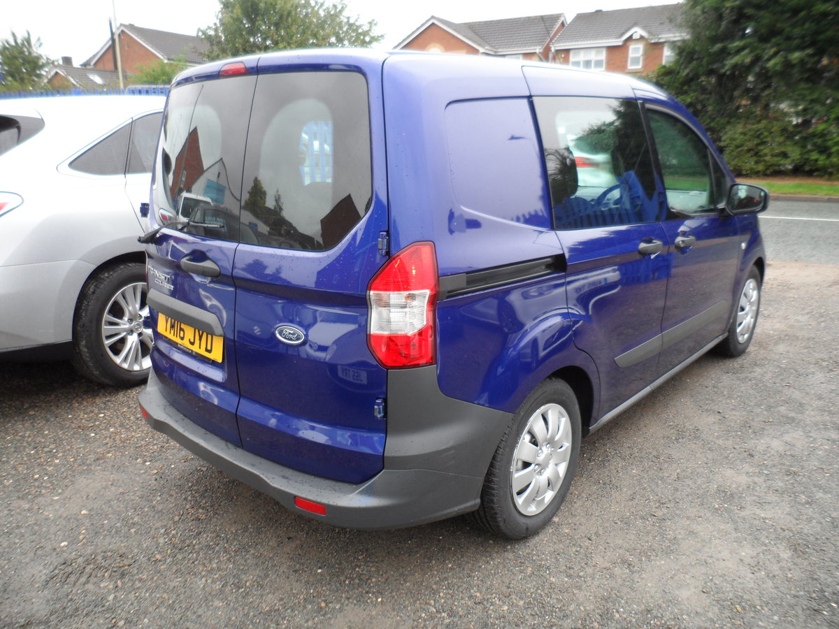 2016 FORD COURIER FACTORY BUILT KOMBI PEOPLE CARRIER 89,000 MILES For Sale (picture 2 of 6)