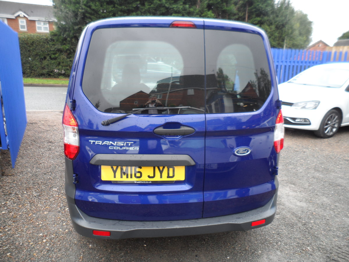2016 FORD COURIER FACTORY BUILT KOMBI PEOPLE CARRIER 89,000 MILES For Sale (picture 3 of 6)