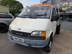 **OCTOBER ENTRY** 1994 Ford Transit 4x4 Tipper