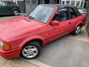 1988 Ford escort 1.6 xr3i cabriolet