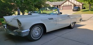 1957 Ford Thunderbird 312ci, 3 speed  For Sale