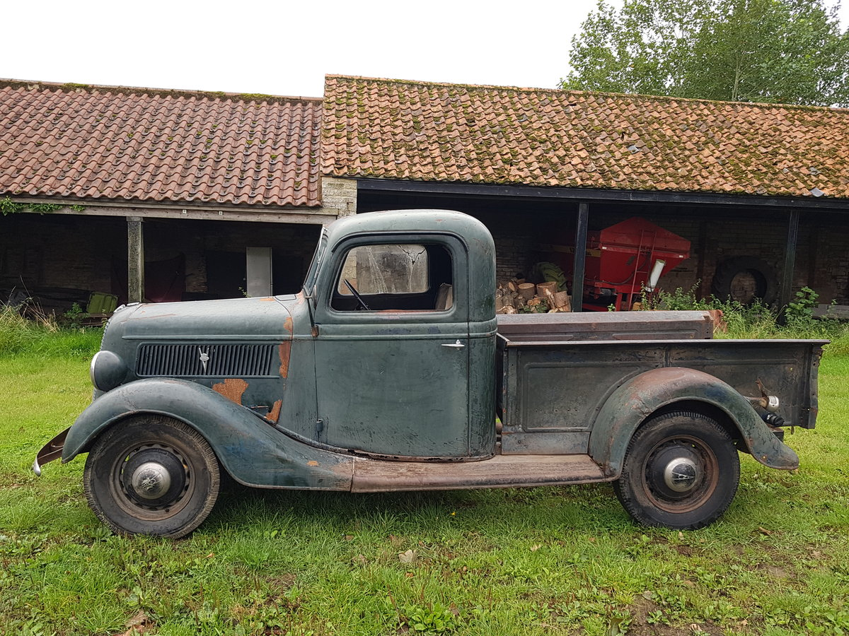 1937 Ford Type 77 Pickup Truck For Sale (picture 2 of 6)