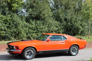 Ford Mustang Mach 1, Air-Con Disc Brakes, 351