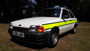 1990 Ford Escort Police Car