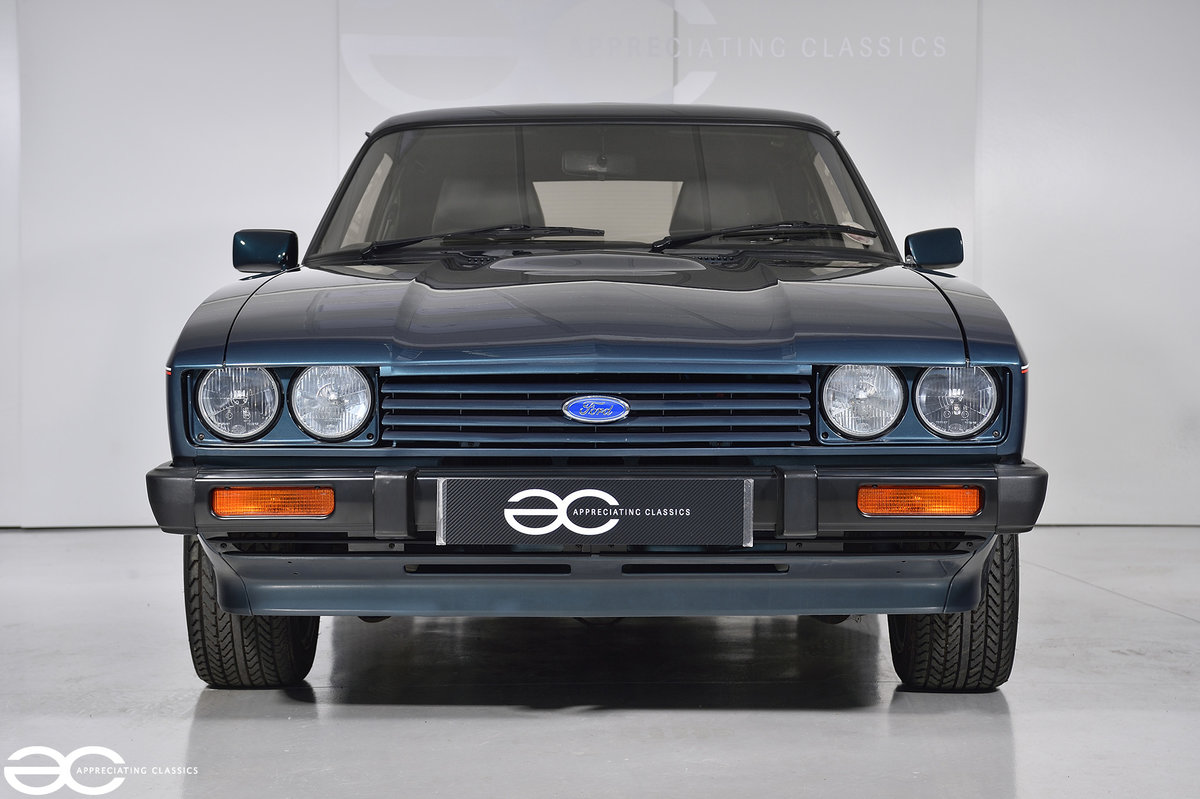 1987 A Ford Capri 280 'Brooklands' with *942 miles* For Sale (picture 1 of 6)