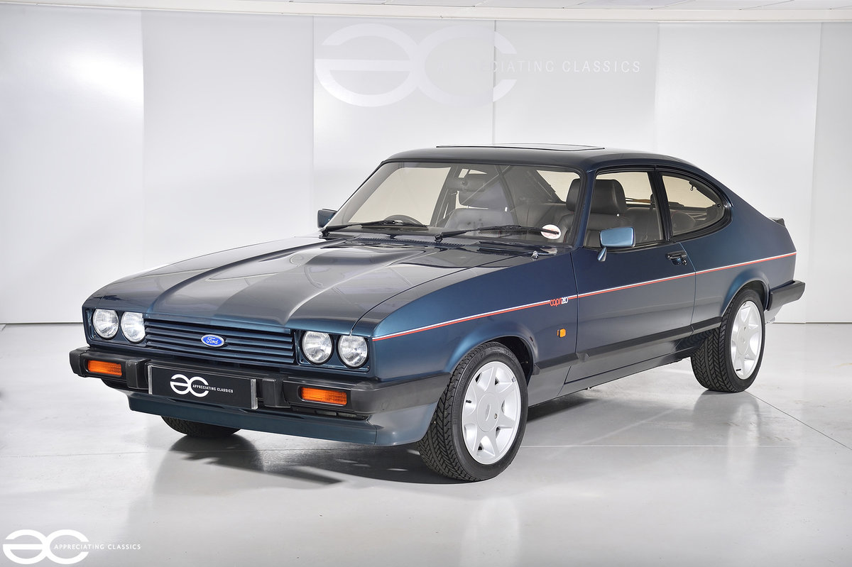 1987 A Ford Capri 280 'Brooklands' with *942 miles* For Sale (picture 2 of 6)