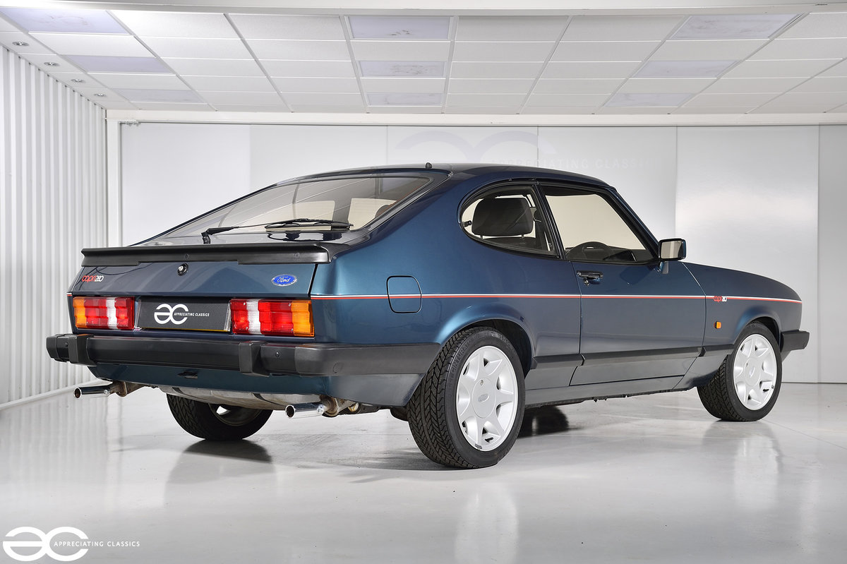 1987 A Ford Capri 280 'Brooklands' with *942 miles* For Sale (picture 3 of 6)