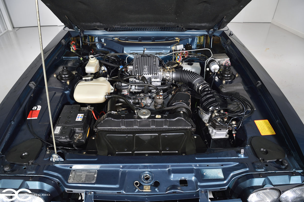 1987 A Ford Capri 280 'Brooklands' with *942 miles* For Sale (picture 6 of 6)