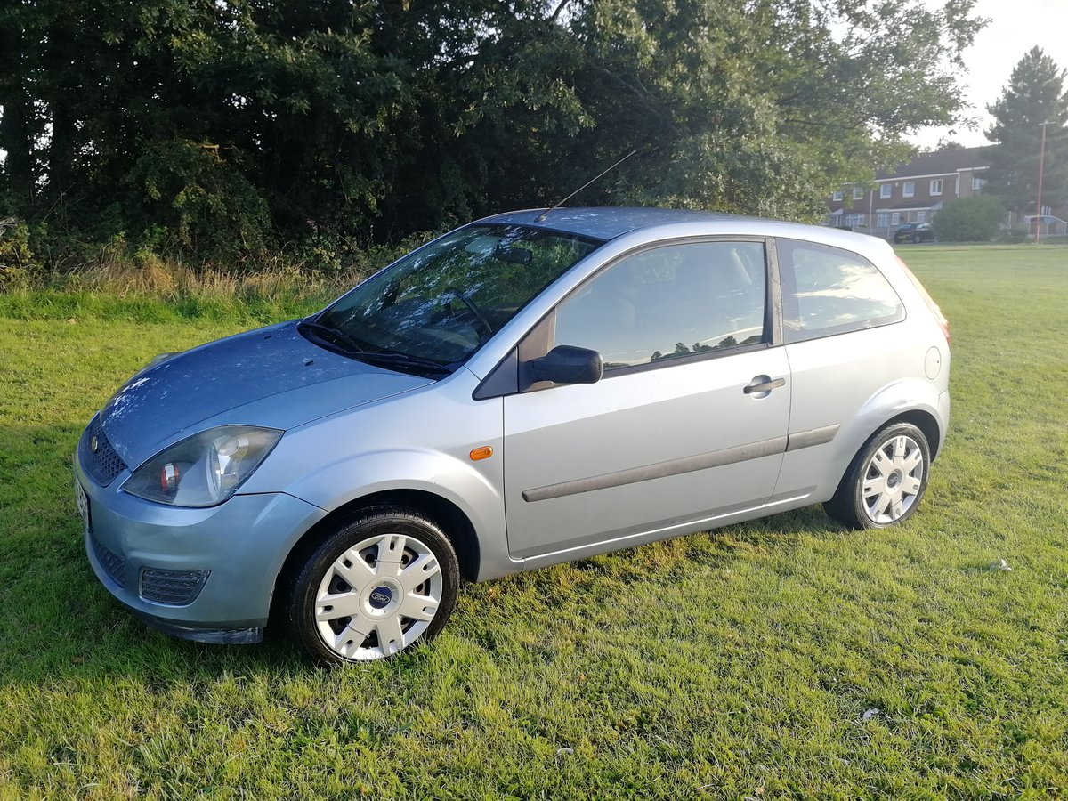 2006 Ford Fiesta full mot, service history & hpi clear SOLD (picture 1 of 6)