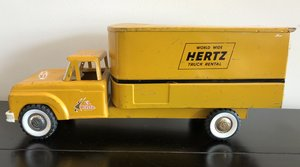 1960s Ford Hertz Delivery Truck
