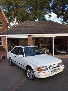 Ford XR3i - With only 16,447 miles!