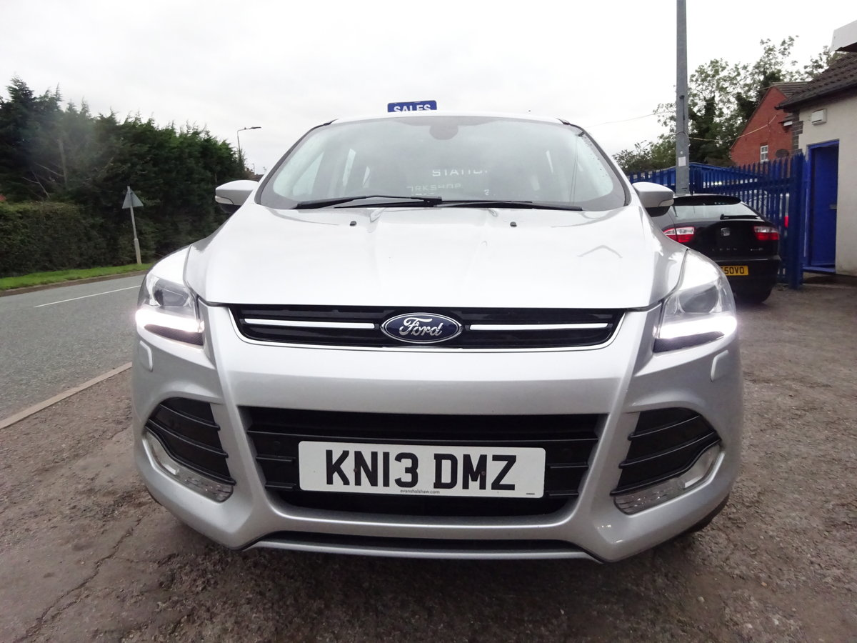 2013 KUGA TITANIUM X PACK AUTO DIESEL 73,000 MILES F.S.H NEW MOT For Sale (picture 1 of 6)