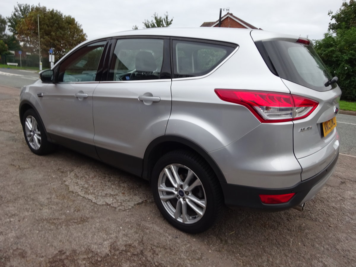 2013 KUGA TITANIUM X PACK AUTO DIESEL 73,000 MILES F.S.H NEW MOT For Sale (picture 3 of 6)