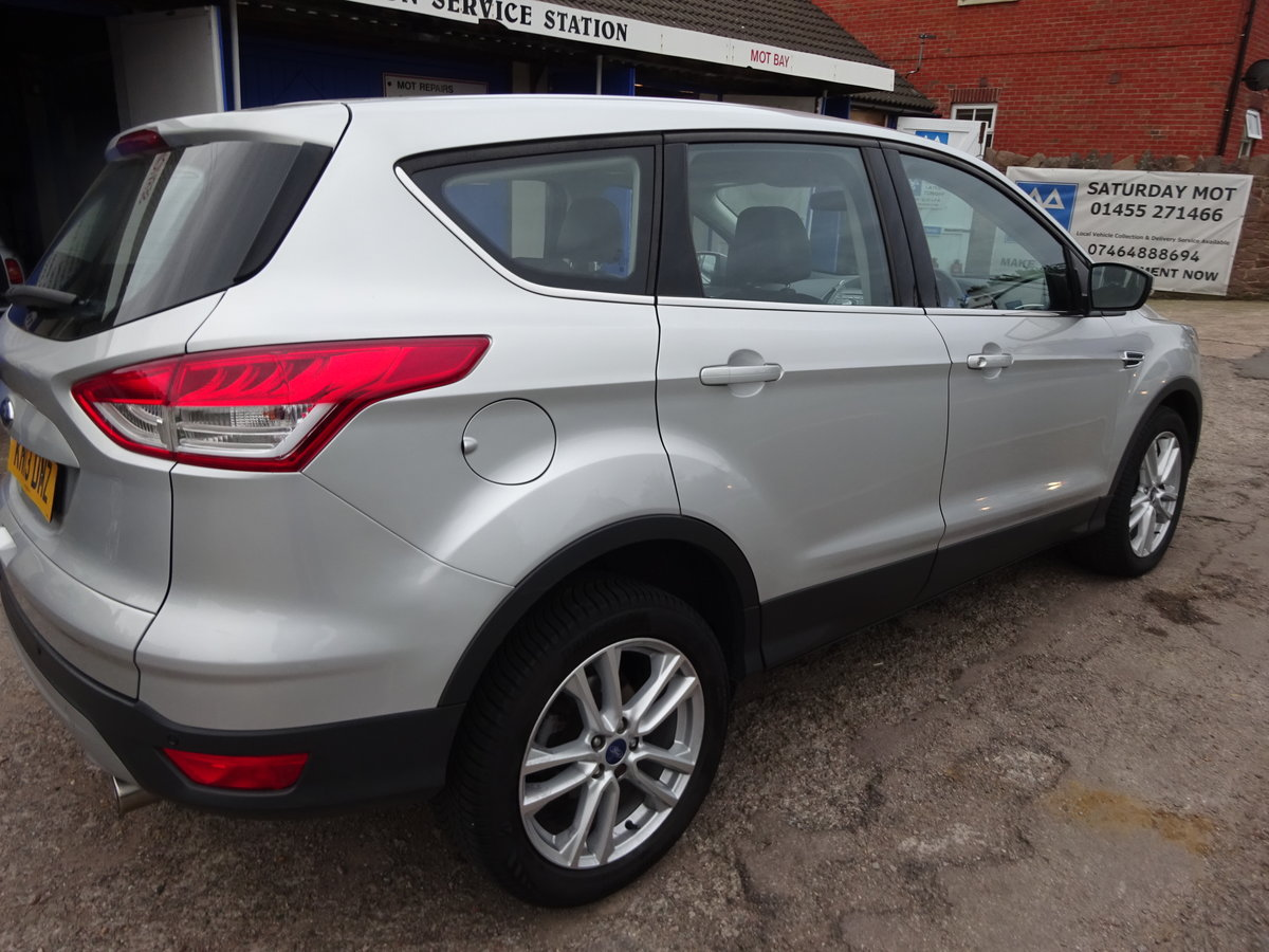 2013 KUGA TITANIUM X PACK AUTO DIESEL 73,000 MILES F.S.H NEW MOT For Sale (picture 4 of 6)