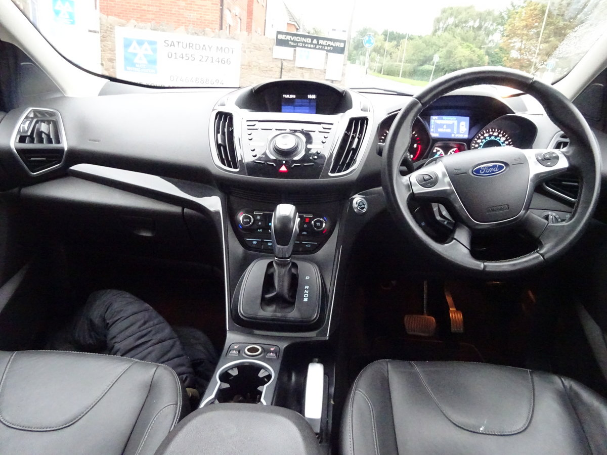 2013 KUGA TITANIUM X PACK AUTO DIESEL 73,000 MILES F.S.H NEW MOT For Sale (picture 6 of 6)