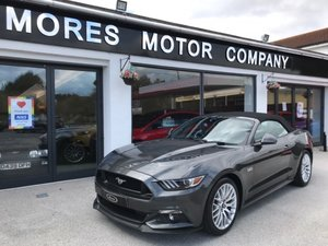 2018 Ford Mustang GT V8 Convertible. Just 800 miles